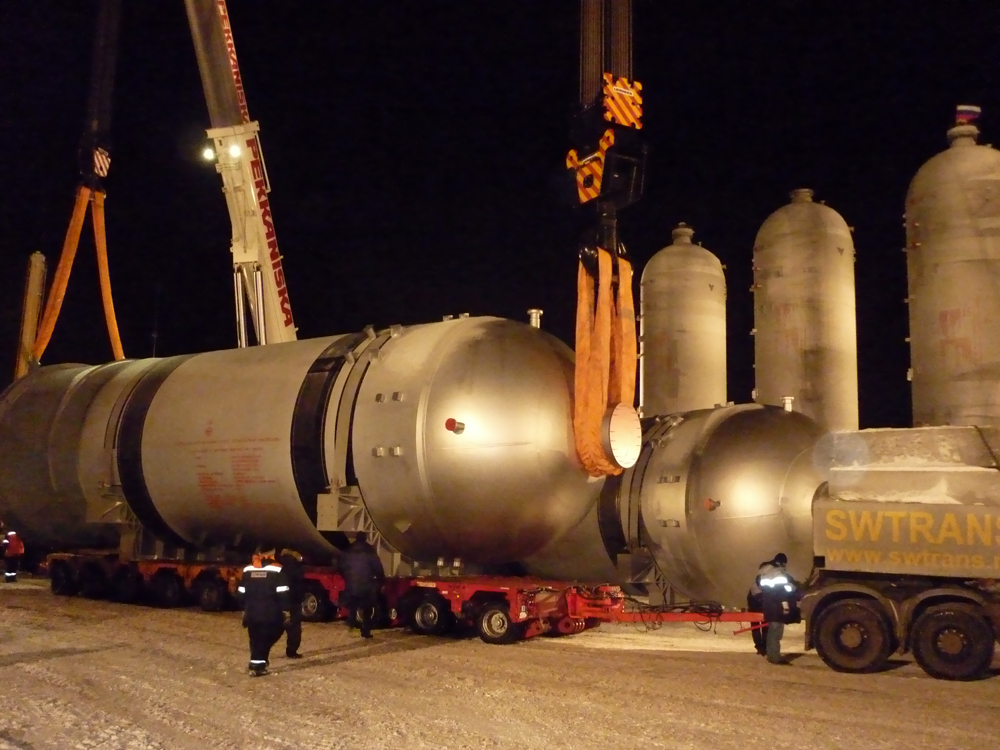 SWTrans - перевозка тяжеловесных грузов