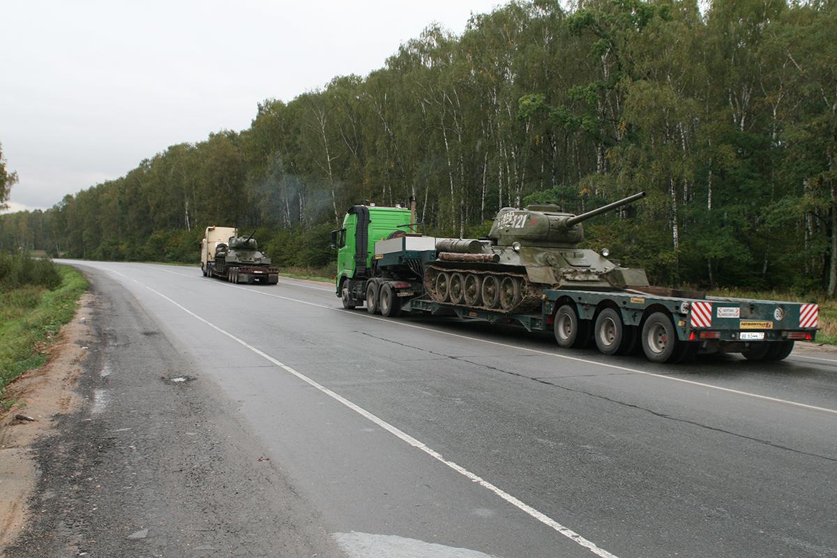 начальство запретило фото перевозки танка на трале строку дополнительным запросом