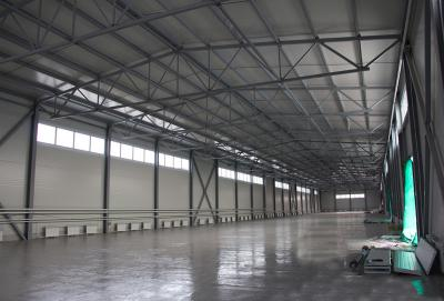 монтаж металлоконструкций. монтажные работы. строительство складов