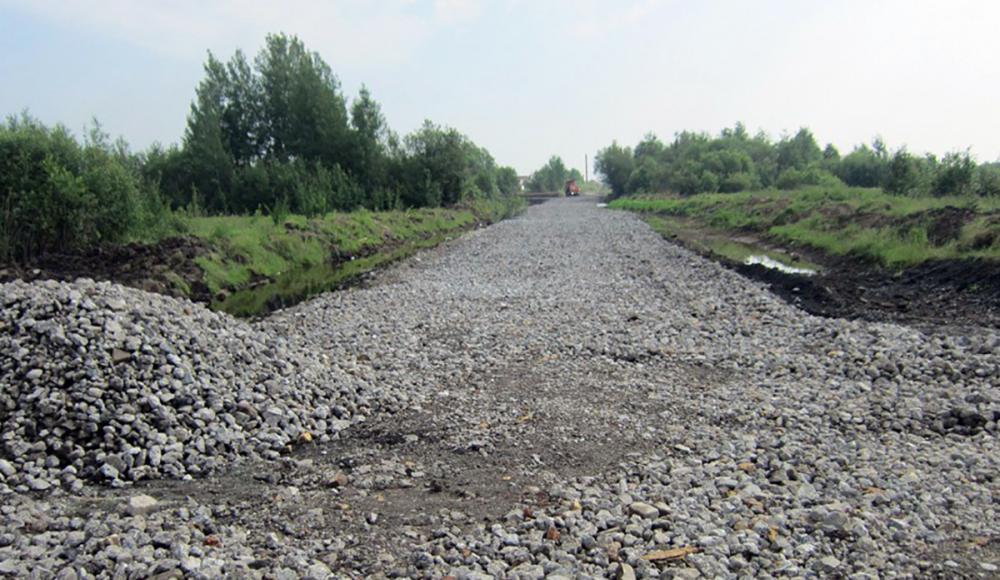 общестроительные работы. строительство дороги.