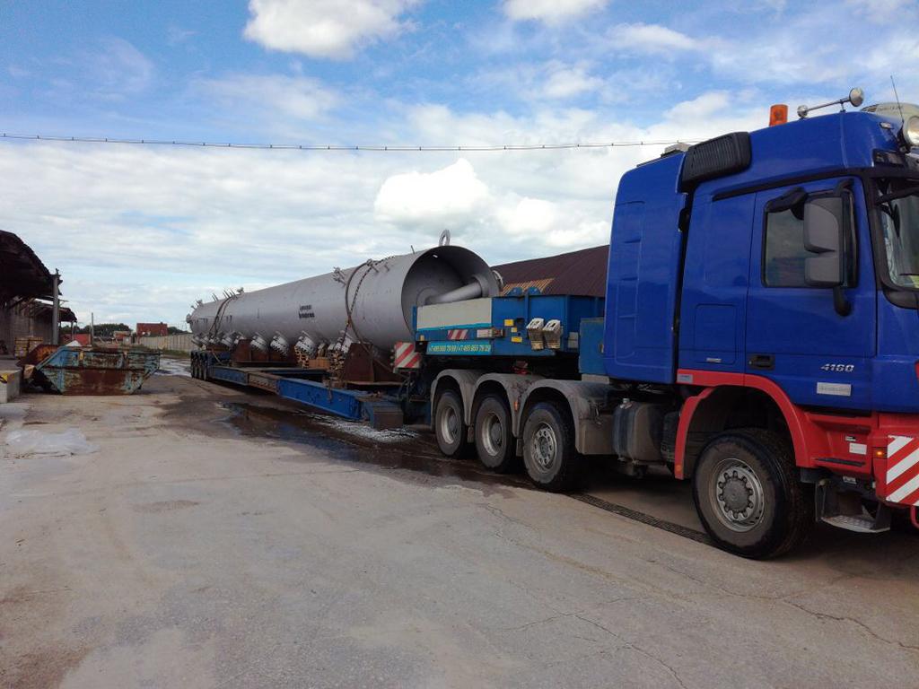 Конкурс на перевозку негабаритных грузов
