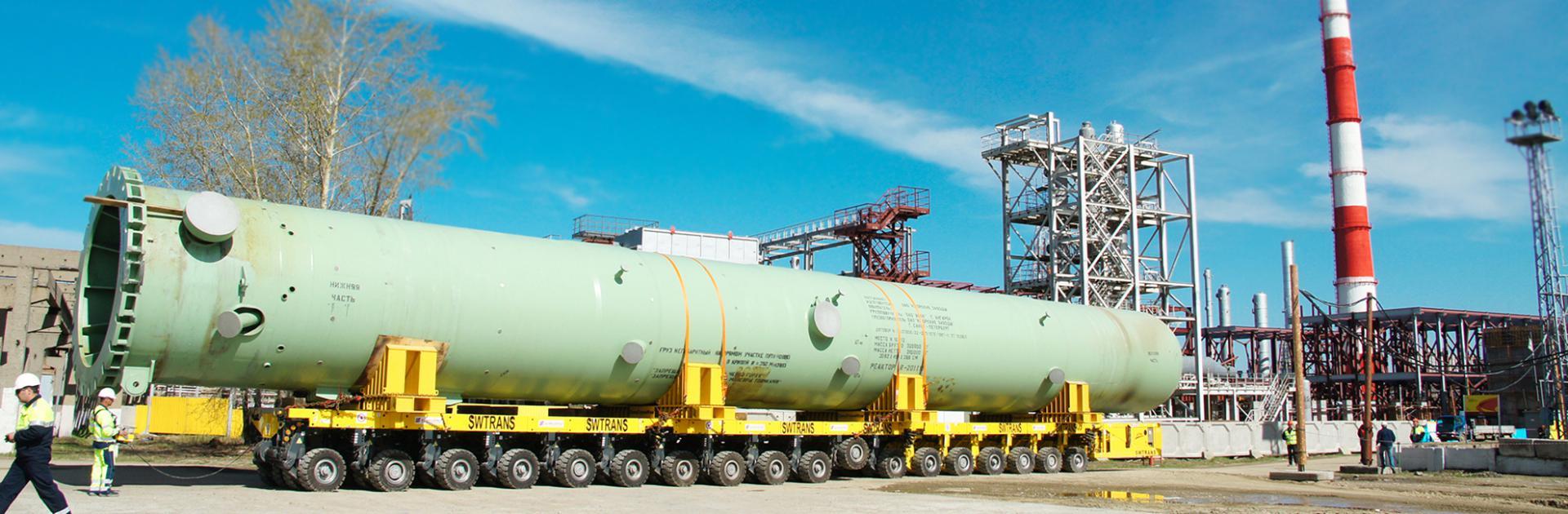 Негабаритные перевозки тяжеловесных грузов автотранспортом в  БОЛЬШЕ ЧЕМ ВОЗМОЖНО