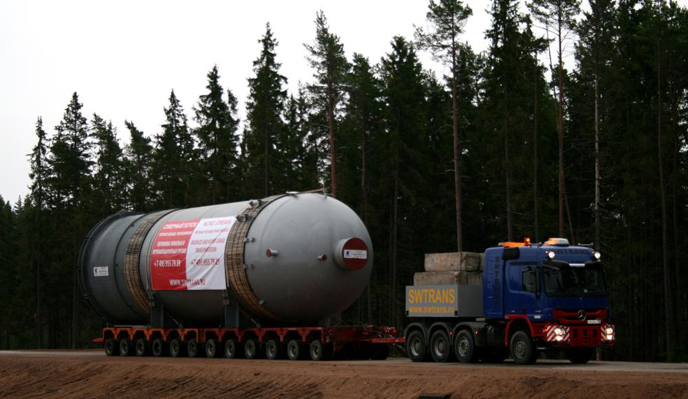Перевозки тяжеловесных грузов