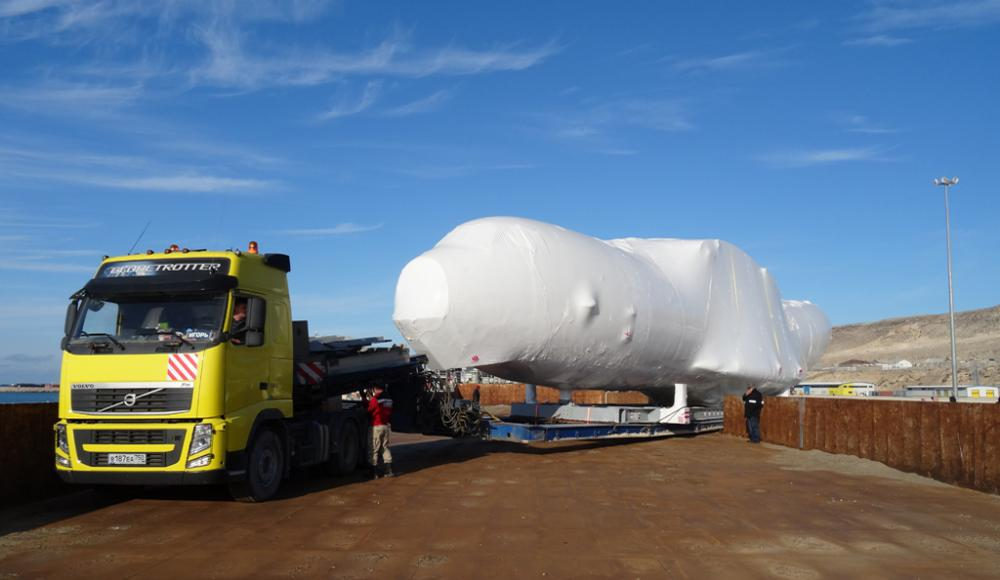 Перевозка тяжеловесных и негабаритных грузов по Средней Азии