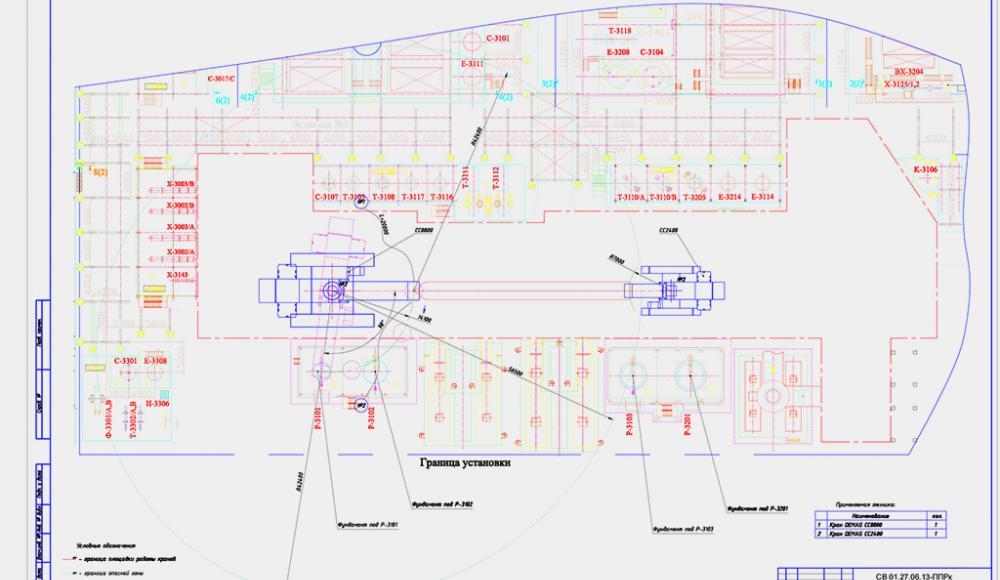 Проектирование. проектные работы. ППРк. Проект производства работ кранами